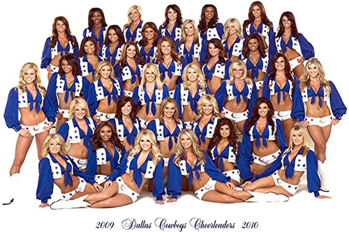 Dallas Cowboys Cheerleaders 2009