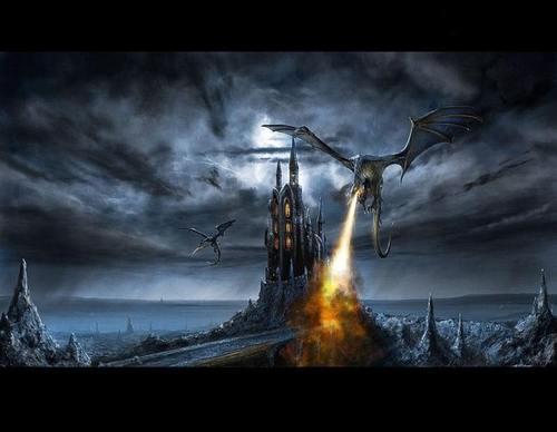 Dark Dragon kasteel
