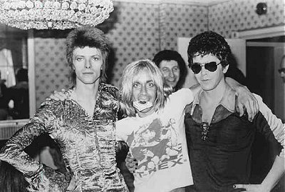 David Bowie - Iggy Pop - Lou Reed