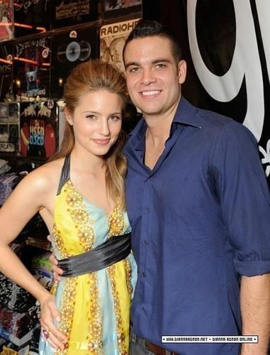 Dianna and Mark ♥