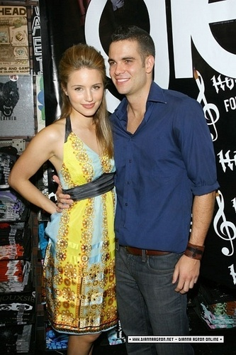 Dianna and Mark ♥