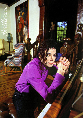 Michael Jackson wallpaper probably containing a drawing room, a pew, and a living room entitled Don't Walk Away...