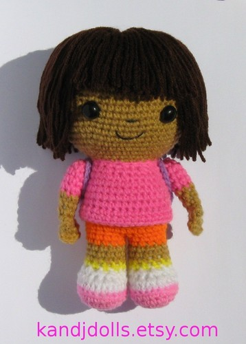 Dora the Explorer images Dora the Explorer crochet doll HD wallpaper and background photos
