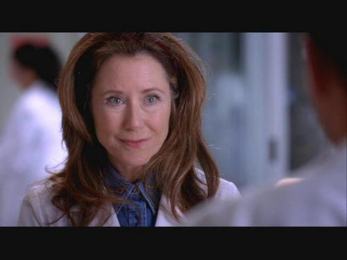 Grey's Anatomy wallpaper containing a portrait entitled Dr. Virginia Dixion
