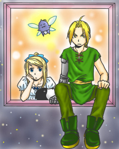Peter Pan and Winry? - edward-elric-and-winry-rockbell Fan Art