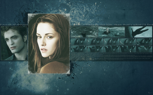 Edward&Bella wallpaper <3