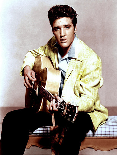 Elvis Presley 1957 Jailhouse Rock movie Publicity 사진