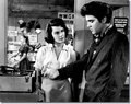 Elvis Presley with Judy Tyler in JAILHOUSE ROCK