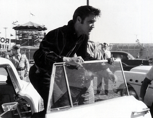 Elvis in Tupelo, Mississippi,1956