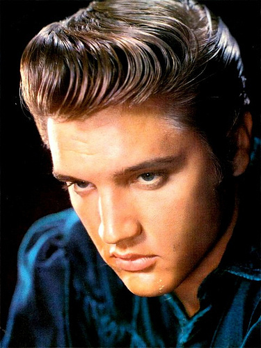 Elvis promo foto 50's