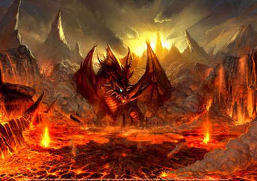 огонь Dragon