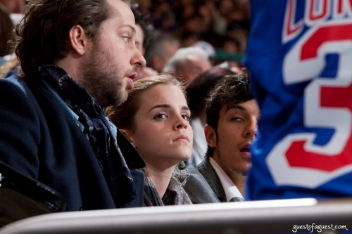 emma watson wallpaper entitled Florida Panthers vs New York Rangers Hockey Game - November 21