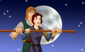 Garett and Kayley - quest-for-camelot fan art