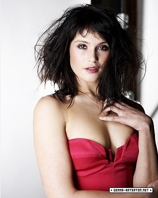 Gemma Arterton wallpaper probably with attractiveness, a portrait, and skin entitled Gemma Arterton | Daily Telegraph Photoshoot (2009)