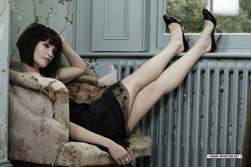 Gemma Arterton achtergrond entitled Gemma Arterton | Marie Claire Photoshoot (2007)