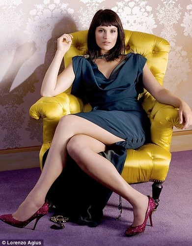 Gemma Arterton wallpaper possibly with bare legs and a hip boot entitled Gemma Arterton | Scotland on Sunday Photoshoot (2008)