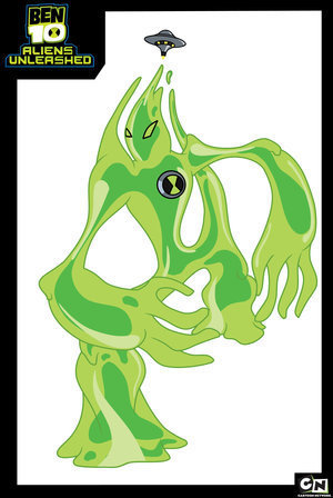 Ben 10: Alien Force wallpaper probably with a sign and anime titled Goop
