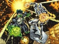 dc-comics - Green Lantern & Silver Surfer wallpaper
