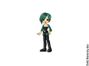Gwen in doll form!