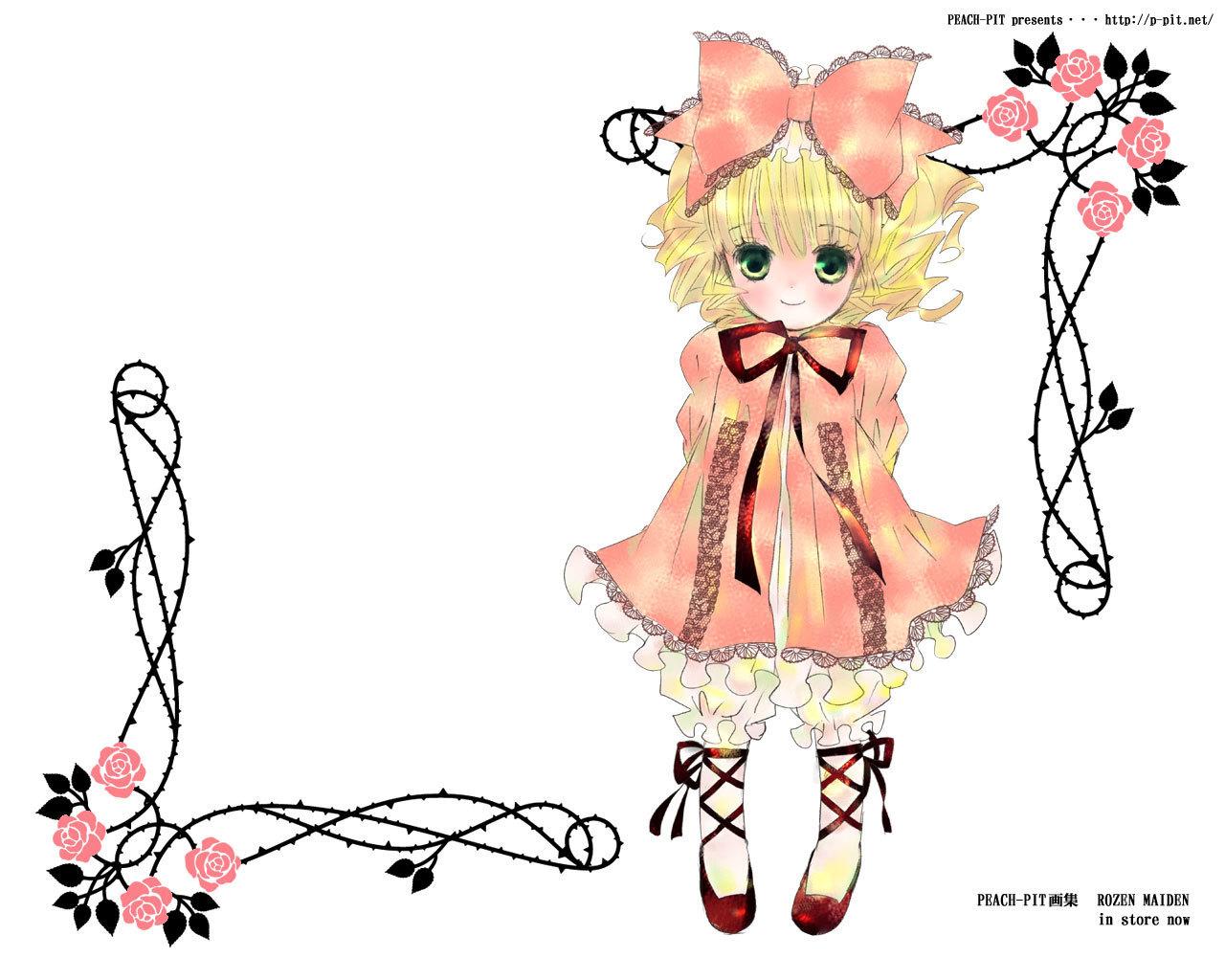 Hina Ichigo - rozen-maiden wallpaper