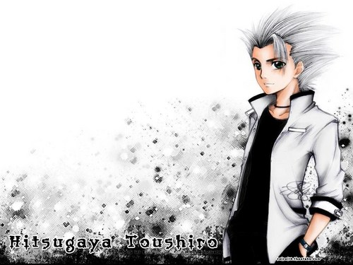 Bleach Guys Wallpaper With A Well Dressed Person And Business Suit Called Hitsugaya