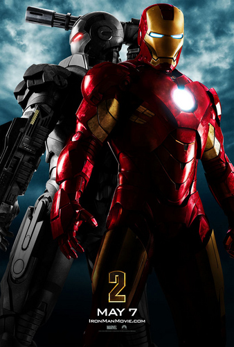 Iron Man wallpaper probably containing a rifleman entitled Iron Man 2: First Official Poster