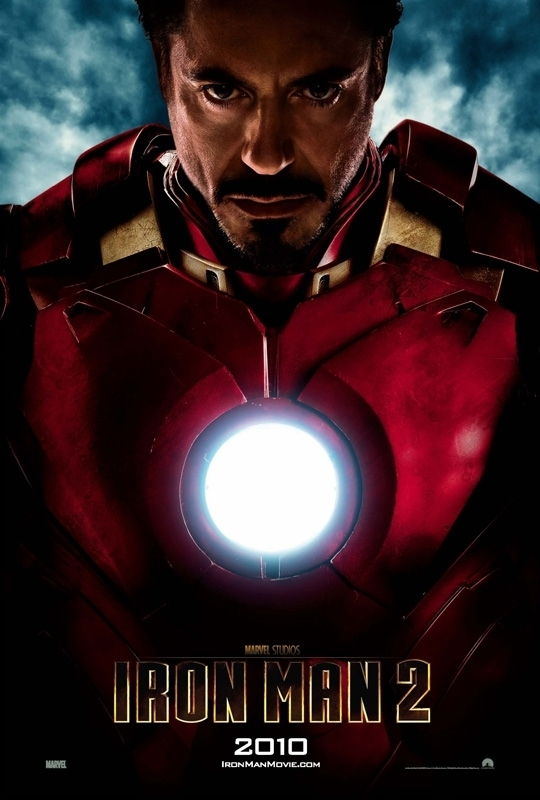 Iron Man 2 Teaser Poster - Robert Downey Jr. Photo ...