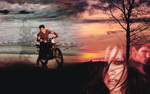 Jacob Black and Bella cygne <3