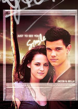Taylor Lautner  Kristen Stewart on Jacob And Bella   Kristen Stewart And Taylor Lautner Fan Art