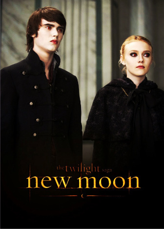 Twilight Series achtergrond entitled Jane & Alec New Moon Promo Poster