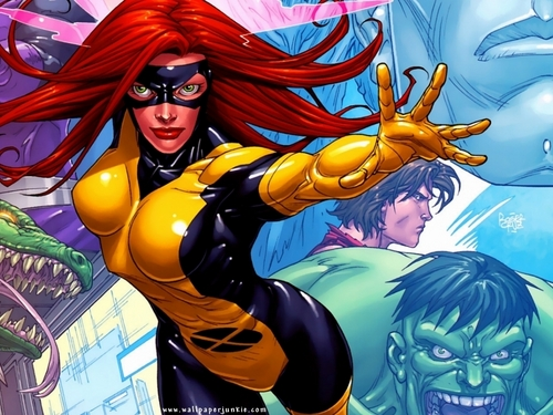 Jean Grey - marvel-comics Wallpaper