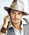 Johnny Depp - Caesars Player Winter 2009 / Spring 2010