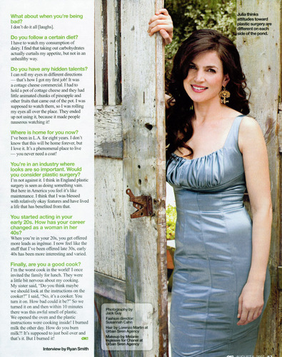 Julia Ormond - OK Magazine