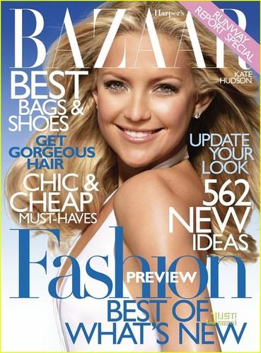 Kate Hudson Covers Harper's Bazaar January 2010