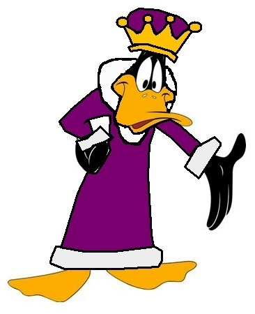 King Daffy eend