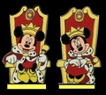 King Mickey and क्वीन Minnie - Medieval