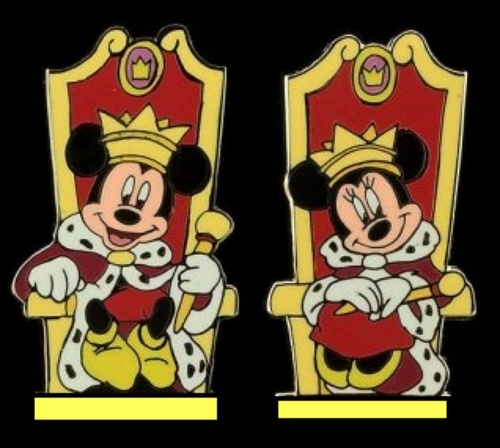 King Mickey and Queen Minnie - Medieval