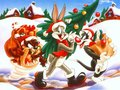 looney-tunes - Looney Tunes - Xmas wallpaper
