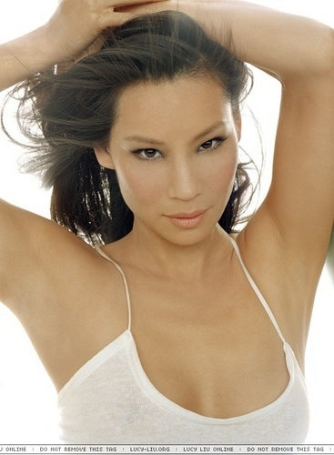 Lucy Liu wallpaper with attractiveness and a portrait entitled Lucy