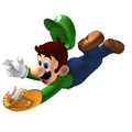 Luigi in Mario Superstar Baseball