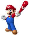 Mario in Mario Super Sluggers