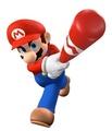Mario in Mario Superstar Baseball