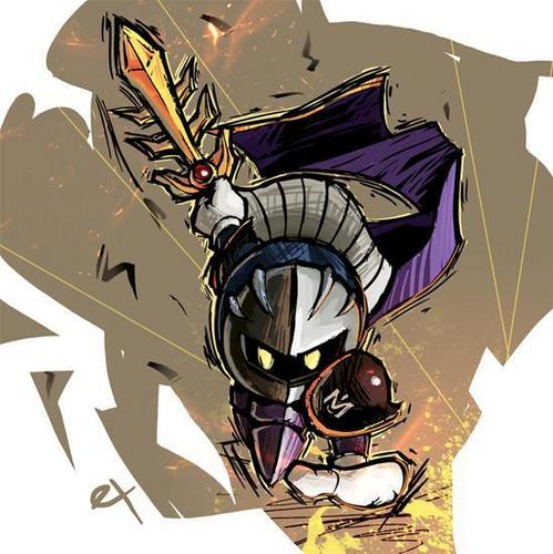 Meta Knight and Halberd