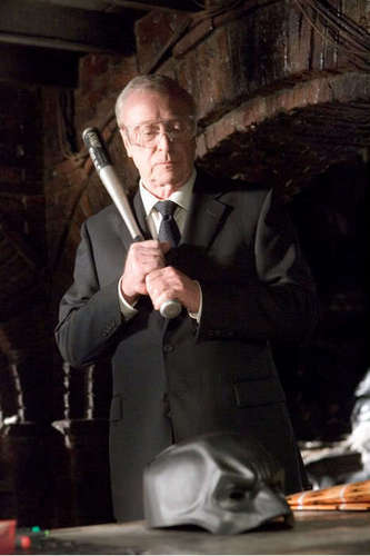Michael Caine In Batman Begins