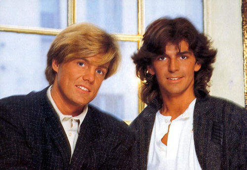 Modern Talking Hintergrund called Modern Talking - Dieter & Thomas