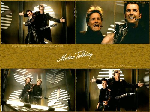 Modern Talking Hintergrund titled Modern Talking