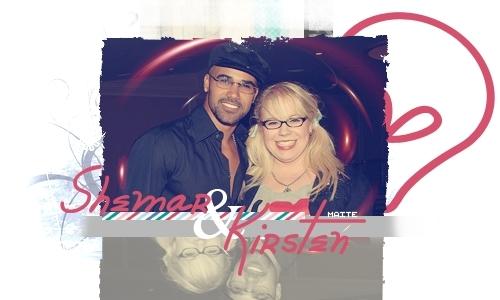 Shemar and Kirsten