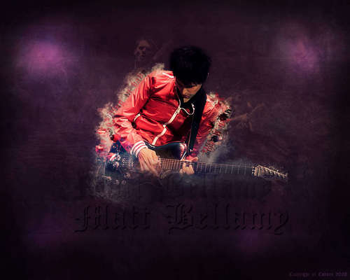Matthew Bellamy wallpaper possibly containing a sign titled Mr B