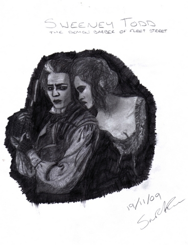 My Sweeney Todd Drawing