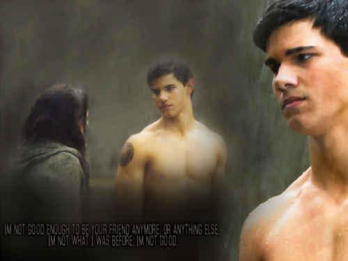 Twilight Series wallpaper containing a hunk, a six pack, and skin called New Moon